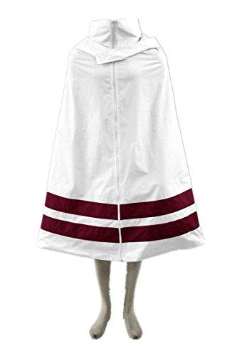 [Naruto Cosplay Costume - Konoha Anime Clothing Long Cloak Cosplay Costume] (Konoha Shinobi Costume)