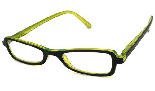 NVU Eyewear Full Readers (Women) Reading Glasses - L Train Black / L TRAIN BLACK +1.00