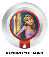 Disney Infinity Series 3 Power Disc Rapunzel's Healing (from Tangled) - 1