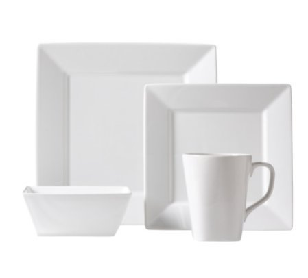 Threshold Square Rim 16 Piece Dinnerware Set (Threshold Dishes compare prices)