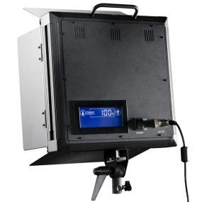 Leistung stufenlos einstellbar und dimmbar mit LCD Display