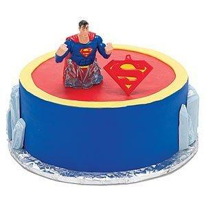 Superman Cake Decorating Kit Topper : Superman Wedding Cake Topper : Superman Wedding Cake Topper
