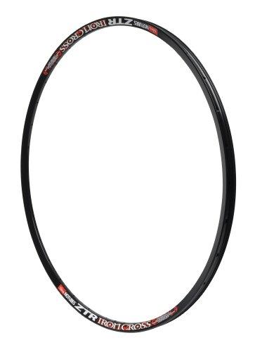 Notubes, Cerchione interno bicicletta ZTR Iron Cross, Nero (Schwarz), 32 fori