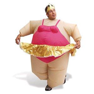 Aufblasbares Kostüm - Fatsuit Ballerina