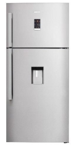 Beko DN161220DX réfrigérateur-congélateur - réfrigérateurs-congélateurs (Autonome, Placé en haut, A+, Acier inoxydable, SN, T, 4*)