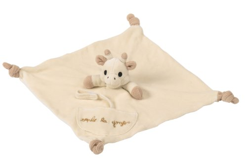 So Pure Sophie the Giraffe Organic Comforter with Soother Holder
