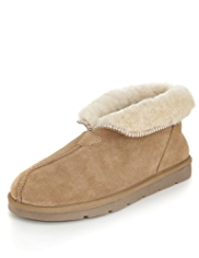 Sheepskin Suede Slippers