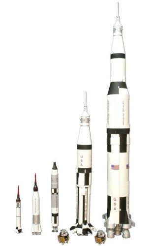 1/200 アメリカ宇宙開発史ロケットセット