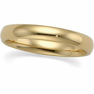 Platinum Comfort Fit Light Wedding Band - Size 12: 4 mm