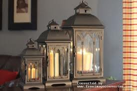 Set of 3 Metal Candle Lanterns - Bronze Pebble Lane Living B007FYMV5Q