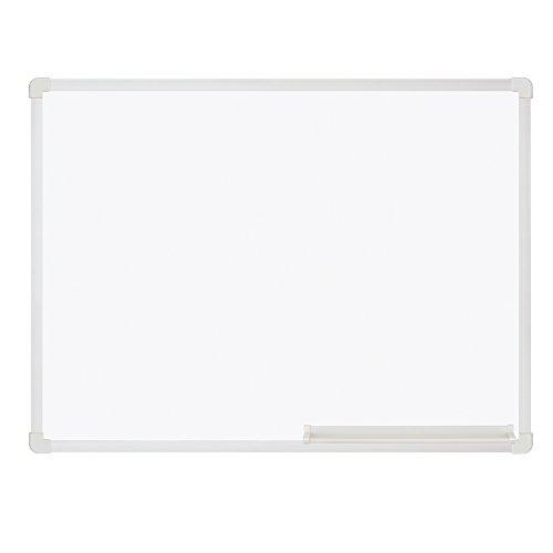 プラス ホワイトボード 壁掛け スチール 無地 600㎜×450㎜ 52401
