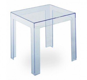 Kartell Jolly Table In Crystal