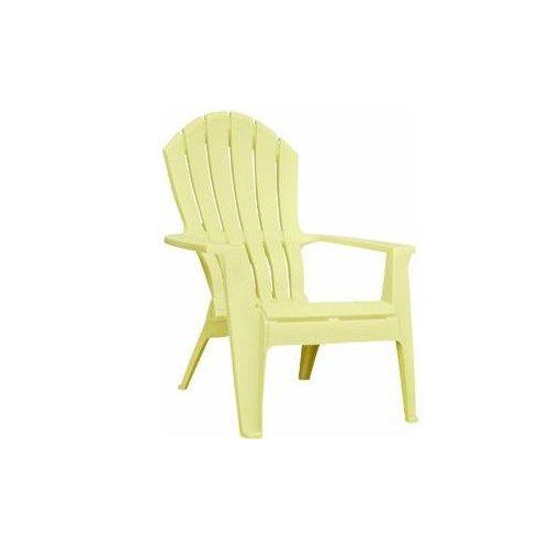 Adams 8371-10-3700 Resin Ergo Adirondack Chair, Banana  eBay