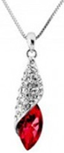 SaySure - 18K Gold Plated Austrian Crystal design Water Drop
