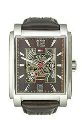 Tommy Hilfiger Automatic Movement Steel Case Brown Dial Men's Watch #1710213