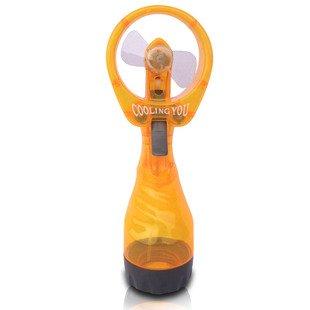 Orange Summer Cooler Water Fan Ice Filled Cooler Misty Mini Cool Fan Handheld Fan front-848771