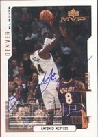 Antonio McDyess Denver Nuggets 2000 Upper Deck MVP Autographed Hand Signed Trading... by Hall of Fame Memorabilia