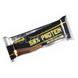 Multipower 50 % Protein Bar 100G (Taste: Choc Banana Crisp)