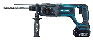 Makita BHR241 18-Volt LXT Lithium-Ion Cordless 7/8-Inch SDS-Plus Rotary Hammer Kit