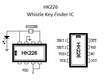 Nightfire Sounds Effects Ic - Whistle Key Finder