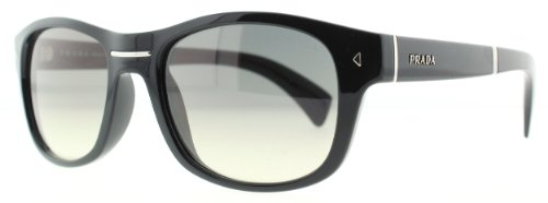 prada Prada 14OS 1AB0B1 Black 14OS Folding Wayfarer Sunglasses Lens Category 2