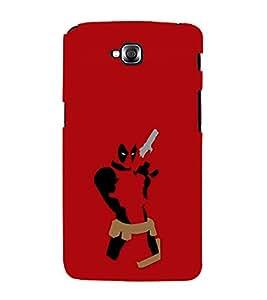 printtech Gunslinger Dpool Back Case Cover for LG GPro Lite / LG G Pro Lite Dual D686