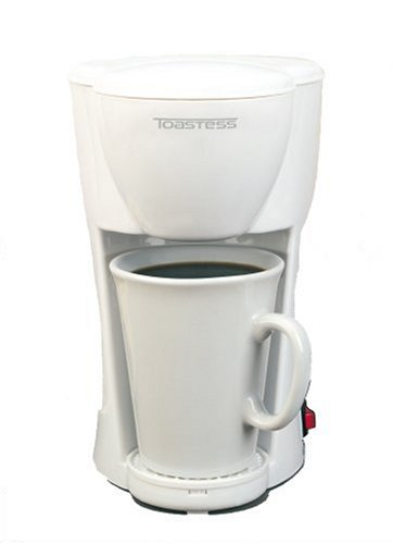 Cyber Monday Toastess TFC-1 Personal-Size 1-Cup Coffeemaker, White Deals