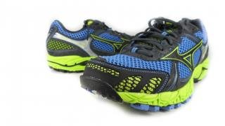 Mizuno Women's Wave Ascend 6 Trail Running,Marina/Anthracite/Lime Punch,10.5 B US