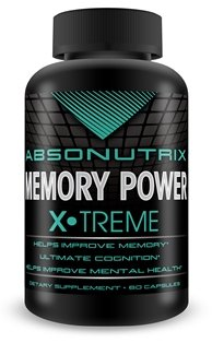 Absonutrix Memory Power-Increase Memory Retention, Cognitive Skills Reduce Mood Swings