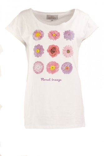 Verysimple -  T-shirt - Casual - Maniche corte  - Donna bianco 34