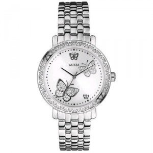 GUESS Stainless Steel Bracelet Watch