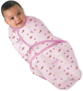 Summer Infant Swaddleme Adjustable Infant Wrap, Ladybug