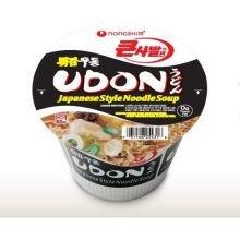Nong Shim Udon Japanese Style Noodles Soup, 4.02 Ounce Bowl -- 12 Per Case.