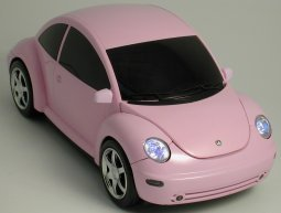 MP3 Car Shaped CD Player (pink)