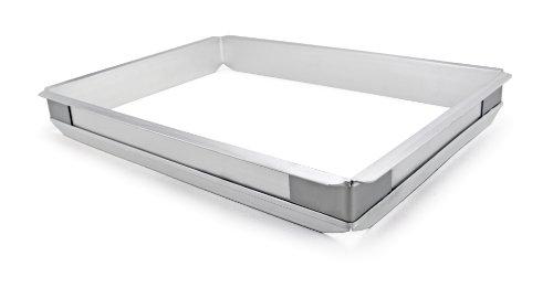 New Star 42580 Aluminum Sheet Bun Pan Extender, Half Size (Sheet Pan Extender compare prices)