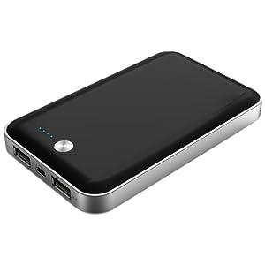 スマイルワールド 2USB同時充電可能 モバイルバッテリー 7000mAh