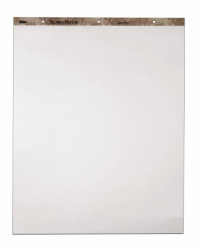TOPS 79450 Recycled 27 x 34 Easel Pad with 16-lb. White Paper, 50 Sheets/pad, 3 Pd/ct