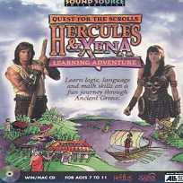 Hercules And Xena Learning Adventure (PC/MAC CD Boxed)