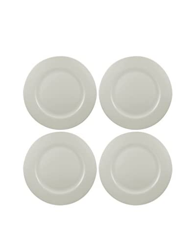 "10 Strawberry Street Set of 4 Dali 10.5"" Bone China Dinner Plates"