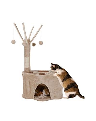 Majestic Pet Kitty Faux Fur Casita, Honey