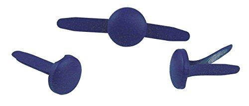 Rayher - 7939310 - tachuelas, redondo, diámetro 8 mm, diseño 60 pcs, d.blau