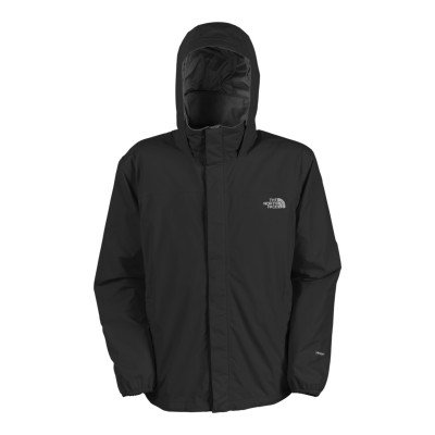 The North Face Mens Resolve Rain Jacket TNF Black Size Small