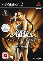 Lara Croft Tomb Raider Anniversary Collectors Edition Game PS2