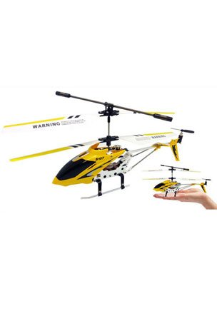 Syma S107 S107G R C Helicopter - Yellow