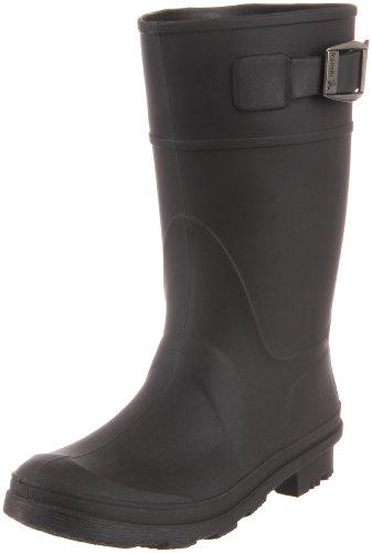 Kamik Raindrops Rain Boot (Little Kid/Big Kid), Black, 6 M US Big Kid (Kid Rain Boots compare prices)