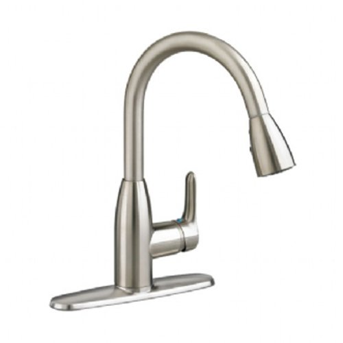 Cheap Kitchen Sinks And Faucets : ... Pull-Down Kitchen Faucet with 1.5 gpm Aerator, Stainless Steel Review
