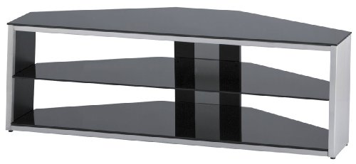 Alphason Tensai Brushed Steel TV Stand For Up To 46 inch Black Friday & Cyber Monday 2014