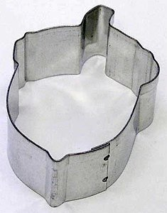 RM Acorn Nut Metal Cookie Cutter for Holiday Baking / Christmas Party Favors ...