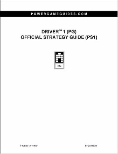 Driver 1 (PG) Official Strategy Guide (PS1)