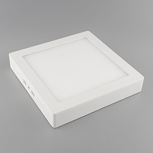 {Factory Direct Sale} 21W Led Surface Panel Wall Ceiling Lights Mount Down Bulb Lamp Warm White 85-265V Square Ultra Bright 1880Lm